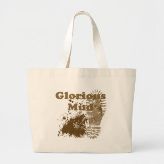 Glorious Mud Large Tote Bag