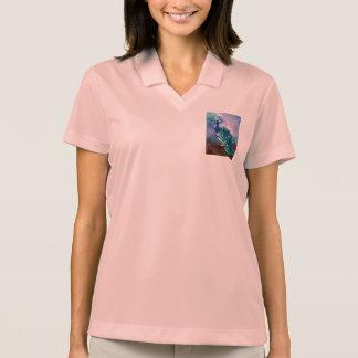 Glorious Peacock II Polo T-shirts