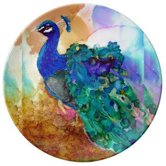 Glorious Peacock Plate