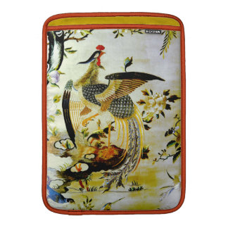 Glorious phoenix antique Chinese embroidery MacBook Sleeve