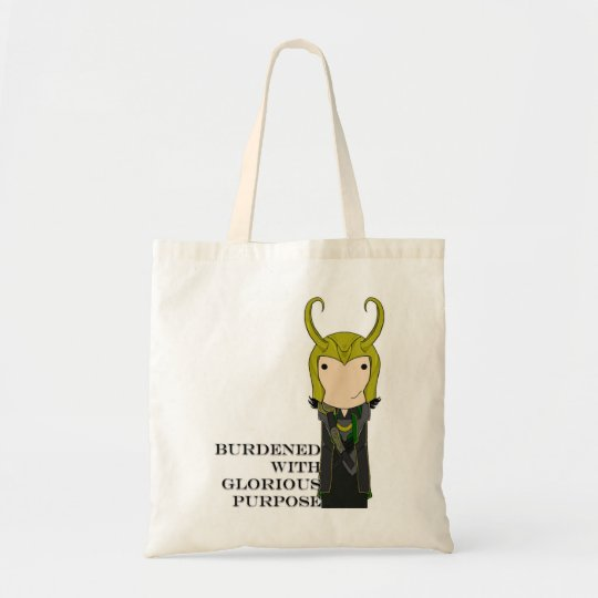 Glorious Purpose tote bag