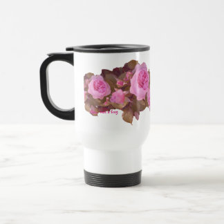 Glorious Roses - travel mug