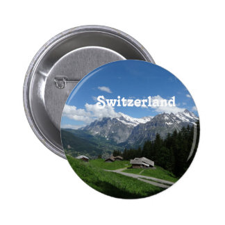 Glorious Switzerland 6 Cm Round Badge
