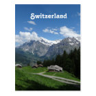 Glorious Switzerland Postcard