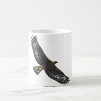 Glorius Golden Eagle Soaring Coffee Mug