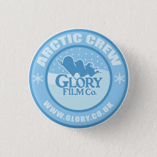 Glory Arctic Crew button. 3 Cm Round Badge