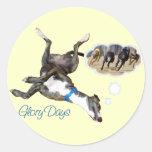 Glory Days Sticker