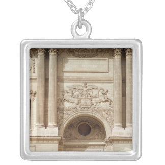 Glory distributing crowns, from the colonnade silver plated necklace