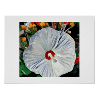 Glory of Hibiscus Poster