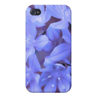 Glory Of The Snow Blue  iPhone 4 Case