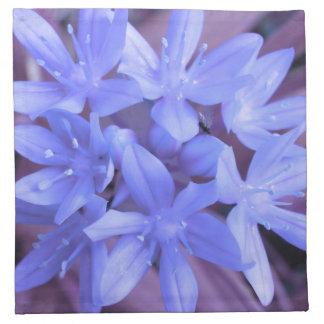 Glory of the Snow Blue Napkin