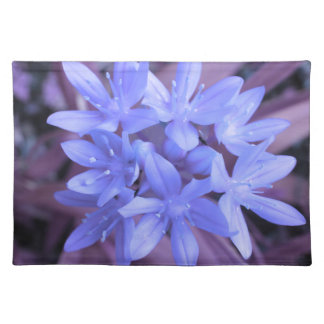 Glory of the Snow Blue Placemat