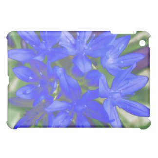 Glory Of The Snow Fluorescent Blue  iPad Mini Cover