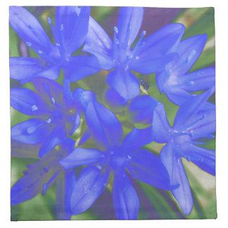 Glory of the Snow Fluorescent Blue Napkin