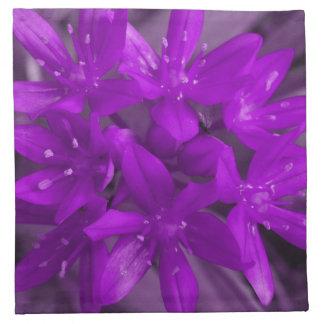 Glory of the Snow Purple Napkin