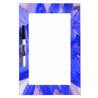 Glory of the Snow Shocking Blue Memo Board