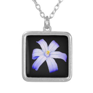 Glory of the Snow Silver Plated Necklace
