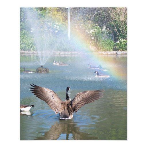 Glory Rainbow Personalized Flyer