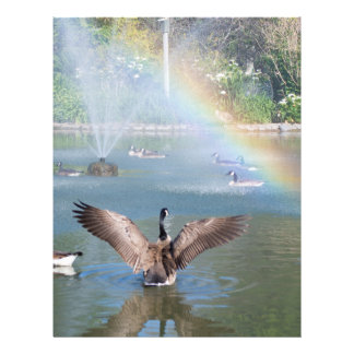 Glory Rainbow Flyer Design