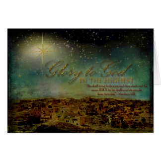 Glory to God Cards
