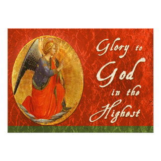 Glory To God In the Highest Christmas Card