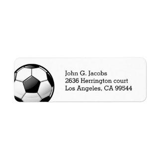 Glossy Classic Soccer Ball