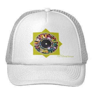 Glossy Eye Design Cool Art Cap