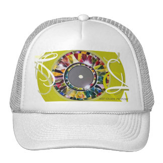 Glossy Eye Modern Fashion Cap
