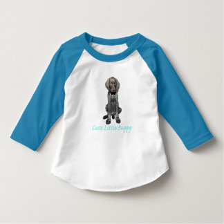 Glossy Grizzly Puppy Boy T-Shirt
