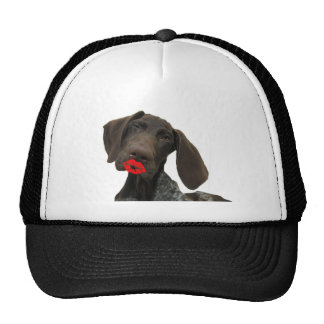 Glossy Grizzly Valentine's Puppy Love Cap