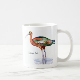 Glossy Ibis mug