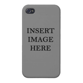Glossy iPhone 4 Case Custom Template Make Your Own
