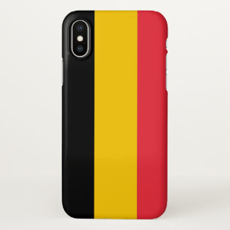 Glossy iPhone Case with Flag of Belgium