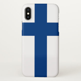 Glossy iPhone Case with Flag of Finland