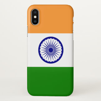 Glossy iPhone Case with Flag of India