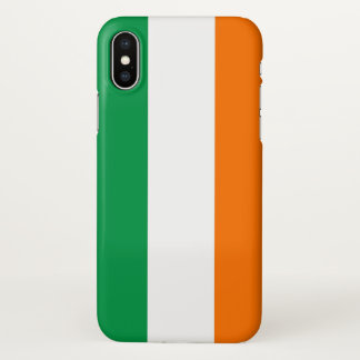 Glossy iPhone Case with Flag of Ireland