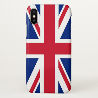 Glossy iPhone Case with Flag of United Kingdom
