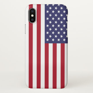 Glossy iPhone Case with Flag of USA