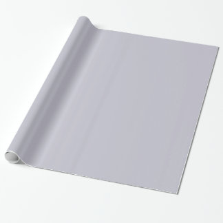 Glossy Lavender Grey Wrapping Paper