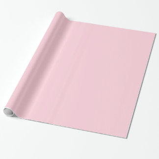 Glossy Pastel Pink Wrapping Paper