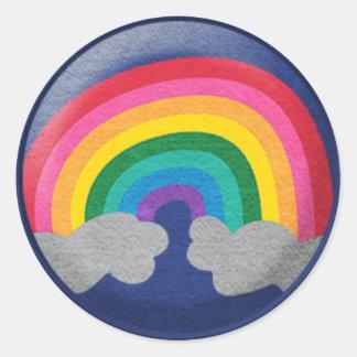Glossy Rainbow Sticker
