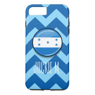 Glossy Round Honduran Flag iPhone 7 Plus Case