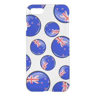 Glossy Round New Zealand Flag iPhone 7 Case