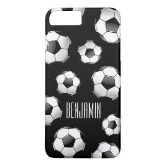 Glossy Round Soccer Ball iPhone 7 Plus Case
