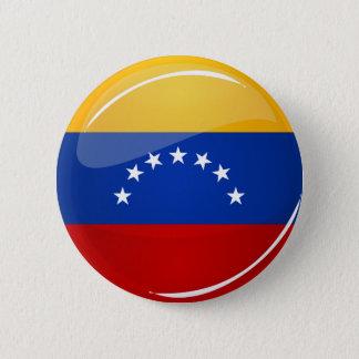 Glossy Round Venezuela Flag 6 Cm Round Badge