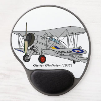 Gloster Gladiator-(1937) Gel Mouse Mat