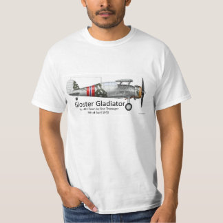 Gloster Gladiator t-shirt, Major Finn Thorsager T-Shirt