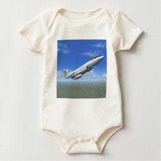 Gloster Meteor Jet Fighter Plane Baby Bodysuit
