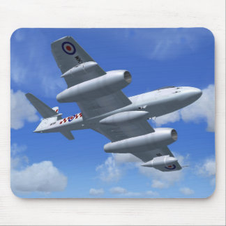Gloster Meteor Jet Fighter Plane Mouse Mat