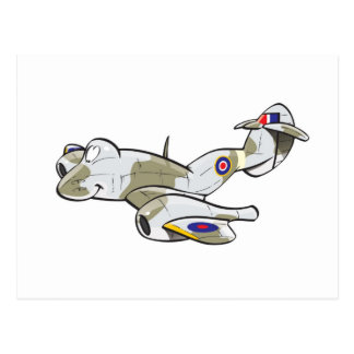 gloster meteor postcard